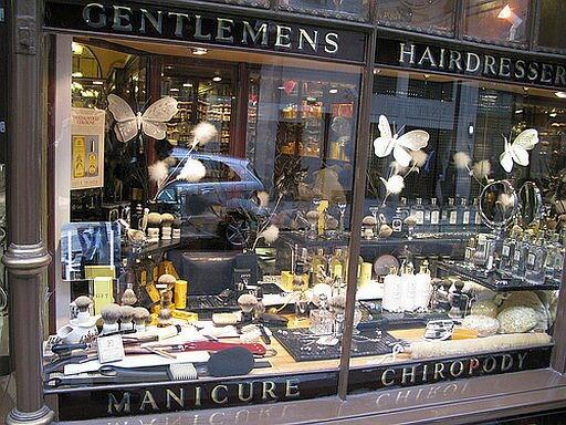 St James's gentleman's grooming shops
