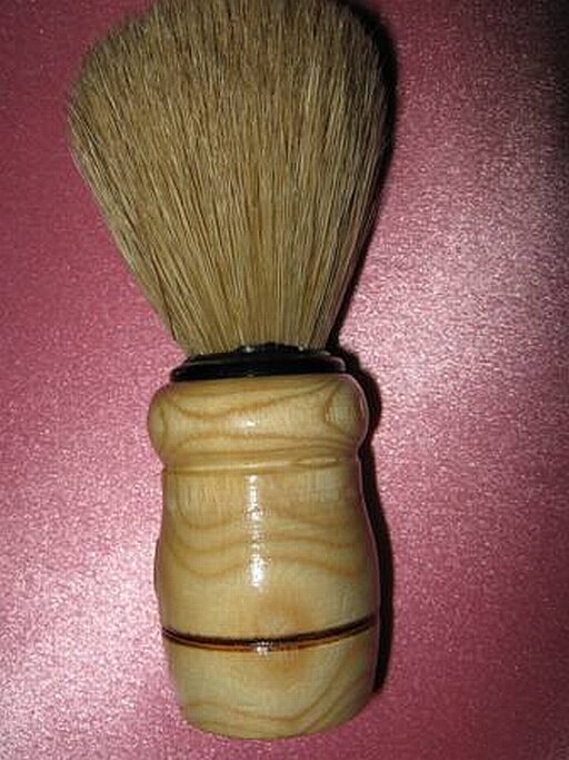 Turkish horse hair shaving brush
