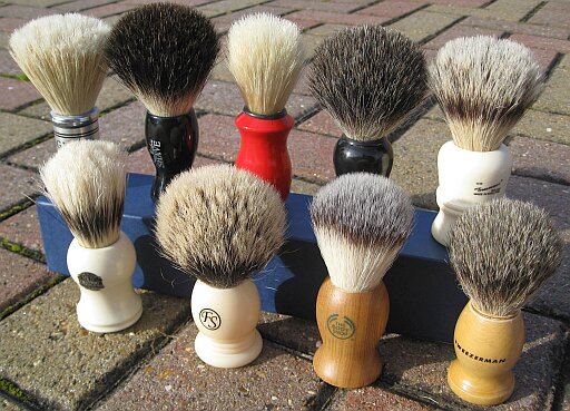 Cheap (but not nasty) shaving brushes