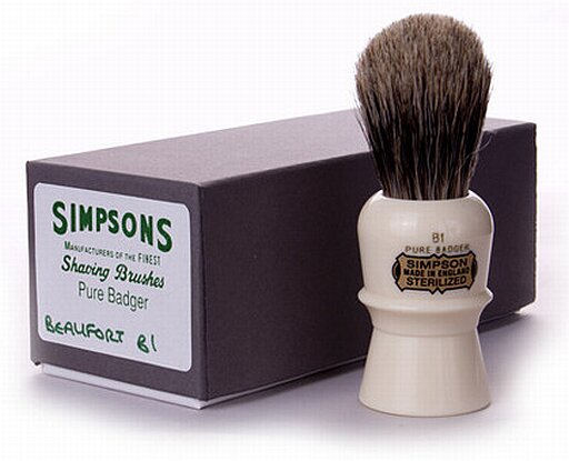 Simpson's Beaufort shaving brush